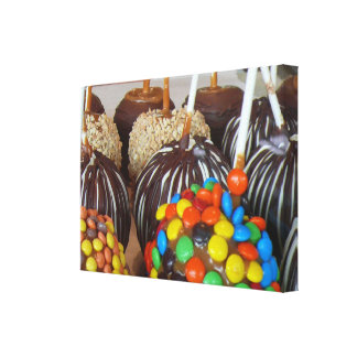 Candy Apples Gallery Wrapped Canvas