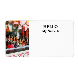 Candy Apples Shipping Label