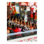 Candy Apples Postcard