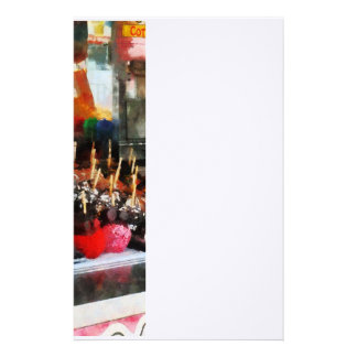 Candy Apples Stationery