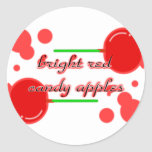 candy apples sticker