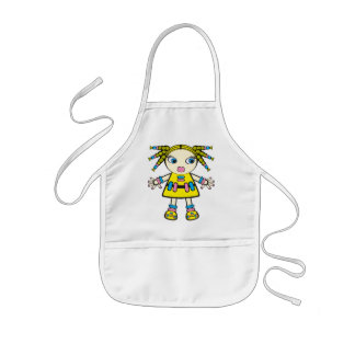 candy baby kids' apron