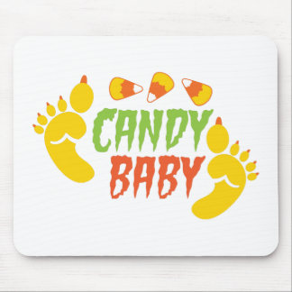CANDY BABY with cute monster feet Mouse Pad