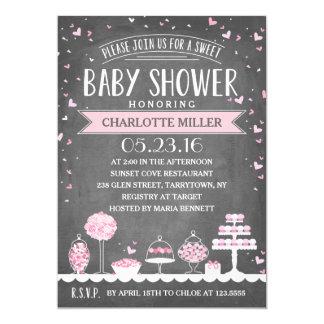 Candy Bar | Baby Shower Card