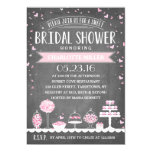Candy Bar | Bridal Shower 5x7 Paper Invitation Card