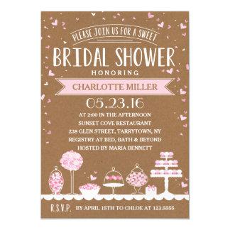 Candy Bar | Bridal Shower Card