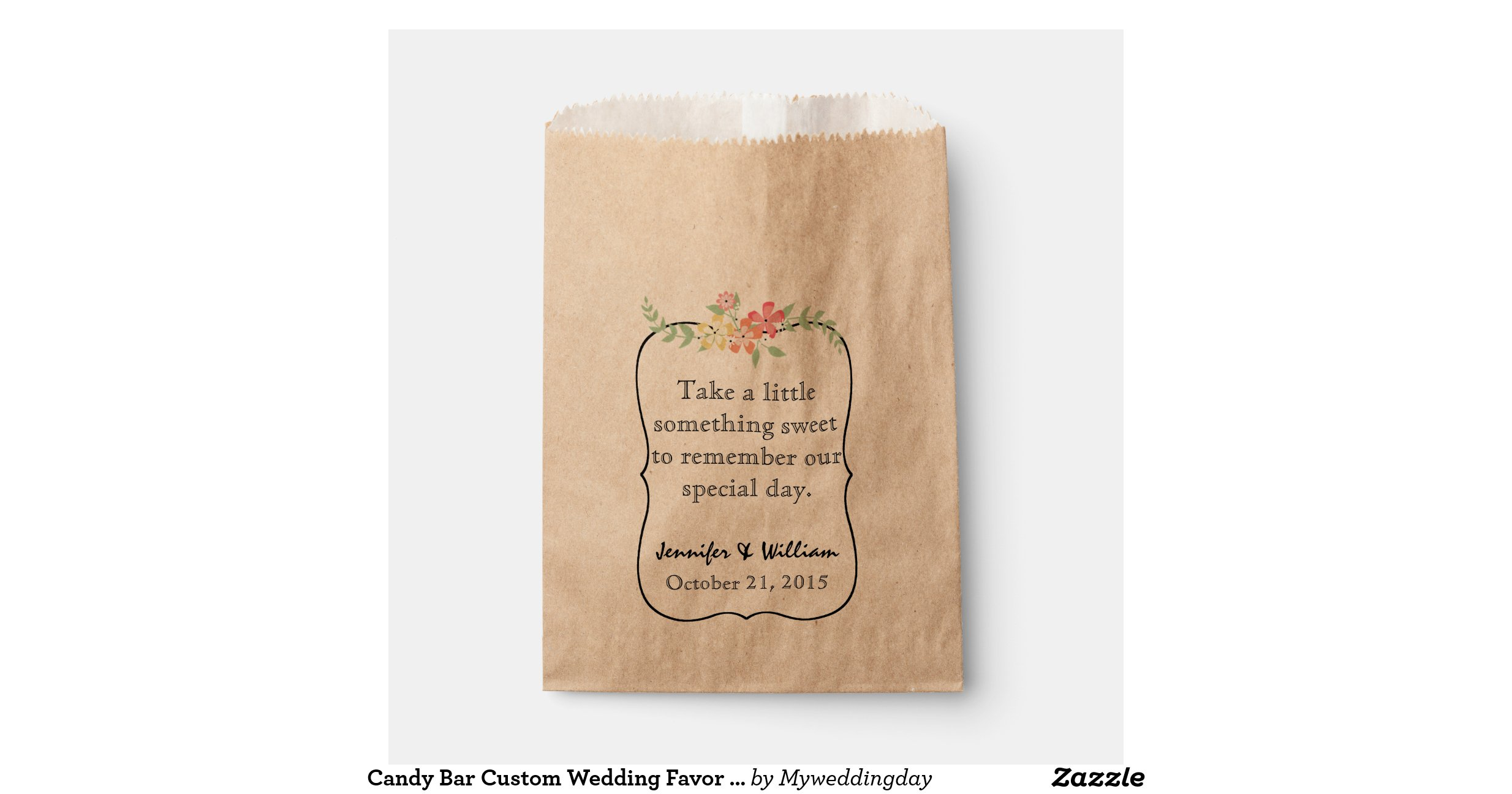 Candy Bar Custom Wedding Favor Bag Favor Bags R660bcb06e9734b268ba3b585d406d7f9 Zdp64 1200