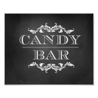 Candy Bar Table Sign 8x10