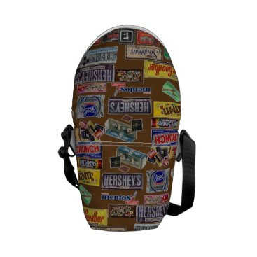 Halloween Themed Candy Bars Courier Bag