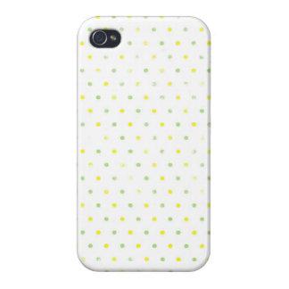 Candy: Beach Polka Dot Print iPhone 4 Case