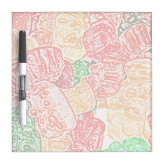 candy bears abstract sketch food sweet snack dry erase boards