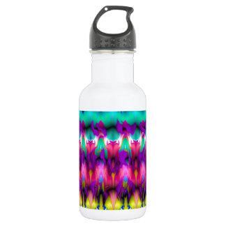 Candy blast stainless steel water bottle