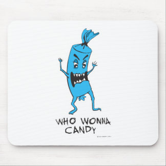 CANDY BLUE MOUSE PAD