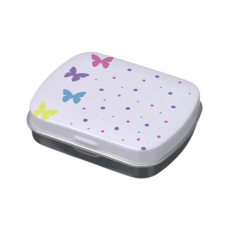 Caja de Dulces - Mariposas Jarrones De Caramelos