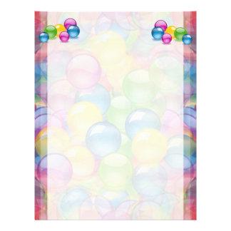 Candy Bubbles Letterhead