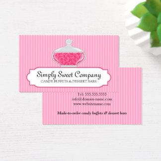 Candy Buffet and Dessert Bars Business Card