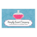 Candy Buffet and Dessert Bars Business Cards