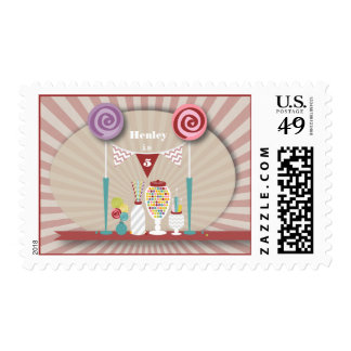 Candy Buffet Birthday Postage