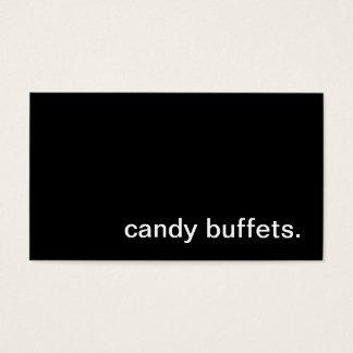 Candy Buffet Business Card