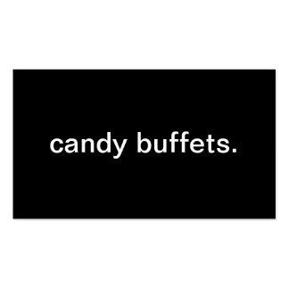 Candy Buffet Business Cards