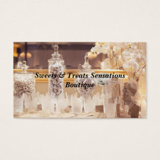 Candy Buffet Business Cards