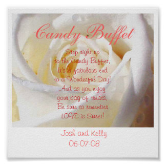 Candy Buffet Poster