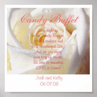 Candy Buffet Poster