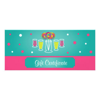 Candy Buffet Rack Card