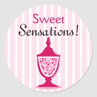 Candy Buffet Stickers