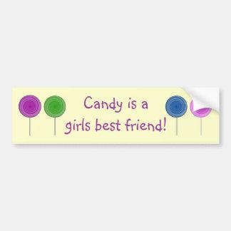 Candy Bumper Sticker
