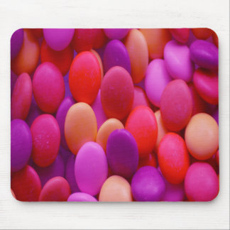 Candy Buttons pink Mouse Pad
