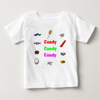 candy candy candy baby T-Shirt