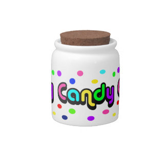 Candy-candy jar candy dishes