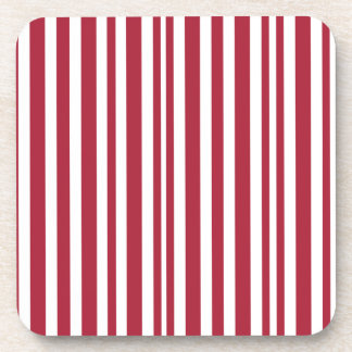 Candy-Cane #11 Beverage Coaster
