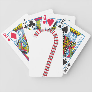 Candy Cane 2 Bicycle Playing Cards