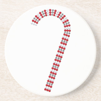 Candy Cane 2 Drink Coaster