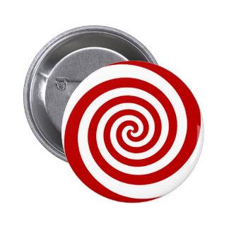 Candy Cane 2 Inch Round Button