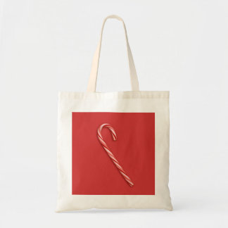 Candy Cane Budget Tote Bag