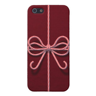 Candy Cane Bow iPhone 5/5S Case