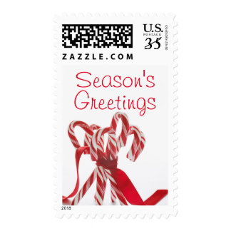 Candy Cane Bunch Postage