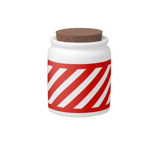 Candy Cane Candy Jars