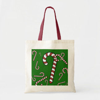Candy Cane Christmas Bags