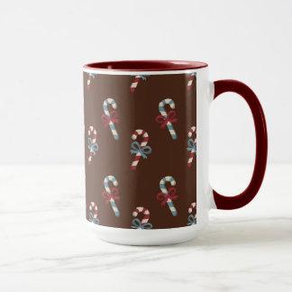 Candy Cane Christmas Mug