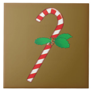 Candy Cane Christmas Tile