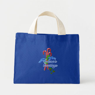 Candy Cane Christmas Tote