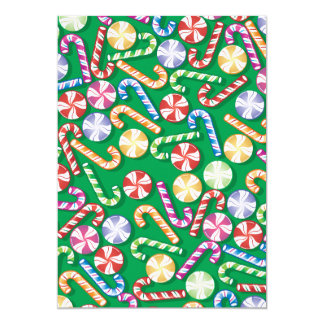 Candy Cane Collage Card