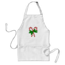 Candy Cane Collection Adult Apron