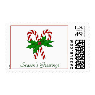 Candy Cane Collection Postage Stamps