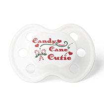 candy cane cutie pacifier