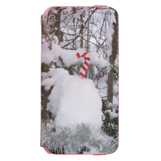 Candy Cane Decoration iPhone 6/6s Wallet Case